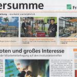 JazzApart, Titelblatt Fraunhofer-Mitarbeiterzeitung