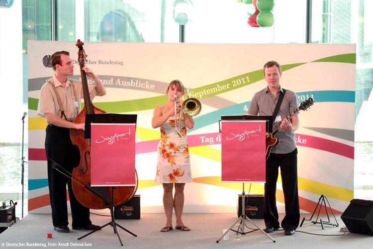 JazzApart im Deutschen Bundestag